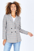 Sass Exploration Check Blazer