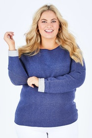 The Reverse Sleeve Sweater