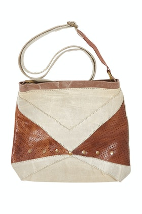 Mona B Prism Crossbody Upcycled Bag