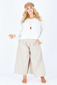 Easy Daze Wide Cotton Linen Pants