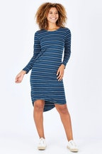 Elm Curved Hem Maggie Dress