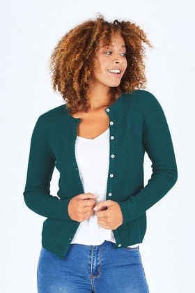 Lily & Me Textured Knit Cardigan