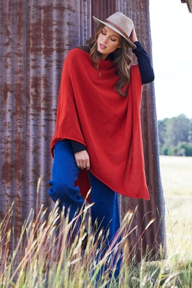 Everyday Cashmere Net Cover All Poncho