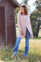 Threadz Longline Cardigan