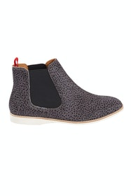 Chelsea Snow Leopard Ankle Boot