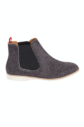 Rollie Chelsea Snow Leopard Ankle Boot