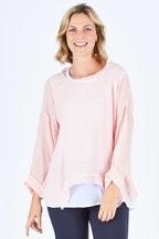 Threadz 2 In 1 Layered Top