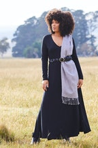 boho bird My Faithful Maxi Tee Dress