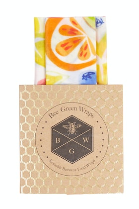 BeeGreen Wraps Organic Cotton Lunch Box Set