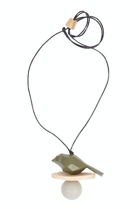 Rare Rabbit Constellation Bird Pendant Adjustable Necklace