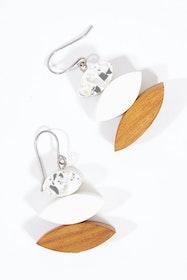 Eclipse Drop Earrings