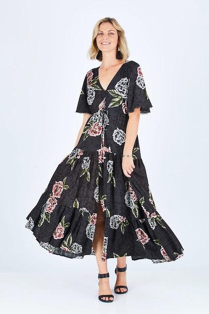 9a2c836f65 Jaase Kelsey Maxi Dress - Womens Maxi Dresses - Birdsnest Buy Online