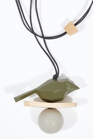 Constellation Bird Pendant Adjustable Necklace
