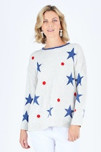 Gordon Smith Star And Spot Sweater