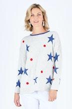 Gordon Smith Star And Spot Sweater