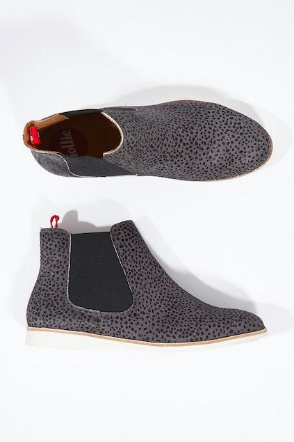 ce5d686196c7 Rollie Chelsea Snow Leopard Ankle Boot - Womens Boots at Birdsnest Fashion
