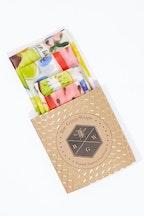 BeeGreen Wraps Organic Cotton Four Starter Beeswax Wraps Pack