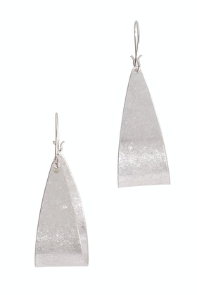 Tiger Tree Silver King Tut Earrings