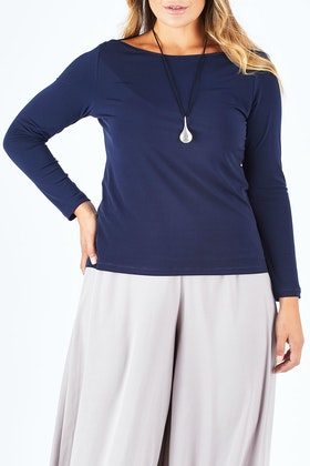 bird by design The Boat Neck Top