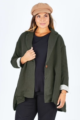 Brave & True Vanessa Swing Coat