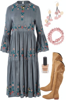 Outfits For Round Tummy Bodyshape Dresses Jeans Tops And More