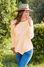 bird keepers The Asymmetrical Hem Sweater