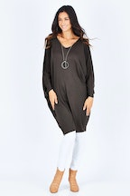 PQ Collection Bamboo Long Sleeve Miracle Dress