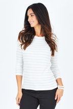 Betty Basics Holly Rib Long Sleeve Tee