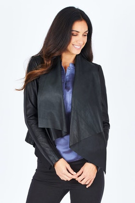 Fate + Becker Haley Leather Jacket