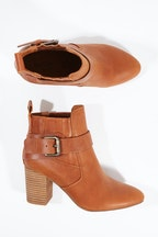 Walnut Misha Ankle Boot