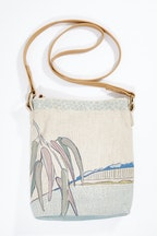 Rancho Crossbody Linen Bag