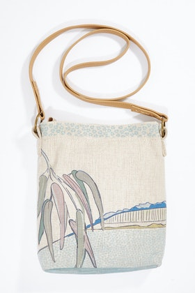 Rancho Crossbody Linen Bag