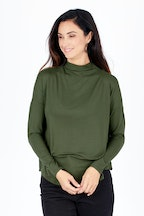 JAG Ella Funnel Neck Top