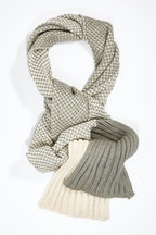 JJ Sisters Natural Contrasts Scarf