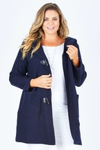 See Saw Hooded Duffle Coat