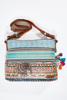 Sakroots Zipper Crossbody Bag