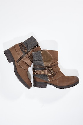 Planet Shoes Maddy Ankle Boot