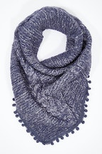 JJ Sisters Pom Pom Thick Snood