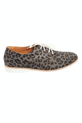 Rollie Derby Leopard Flat