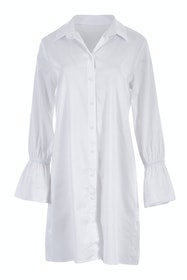Belle Longline White Shirt