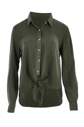Sass Seeker Knot Front Shirt