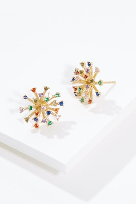 Jolie & Deen Rainbow Burst Earrings