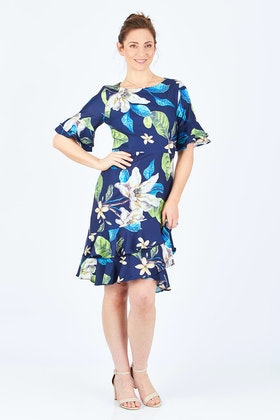 3rd Love Frill Hem Dress