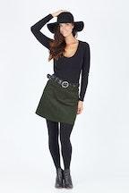 JAG Ada Cord A Line Skirt