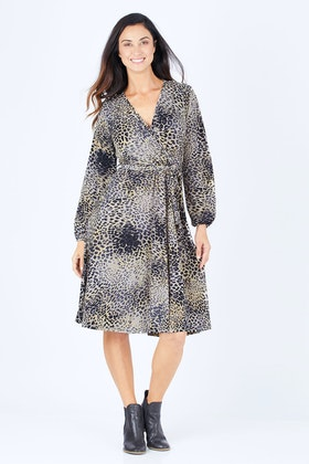 Nest Picks Dina Wrap Dress