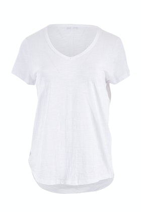 Jump Short Sleeve V Neck Basic Tee
