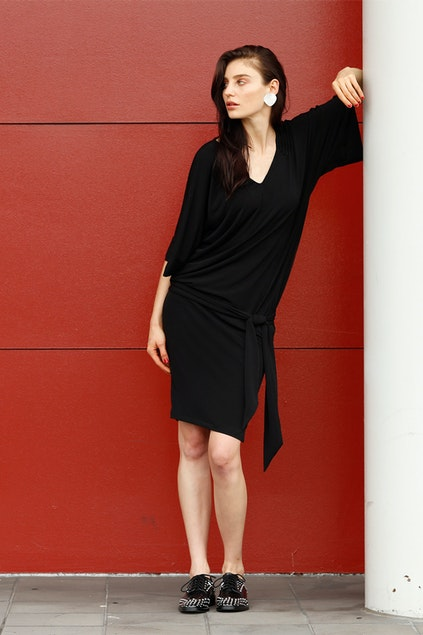 6a62a32e1ad9 Sacha Drake Kimono Shift Dress - Womens Knee Length Dresses ...
