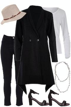 Black Coat Beauty