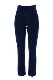 High Rise Ankle Grazier Jeans
