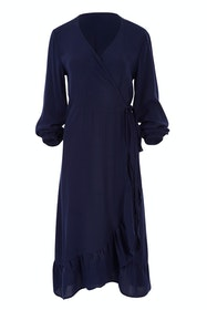 The Midi Wrap Dress